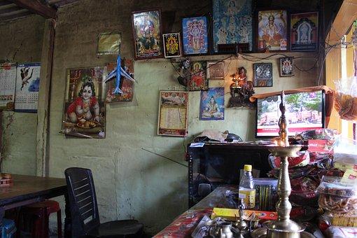 Shop, Traditional, Kerala, Tea Shop, India, Culture