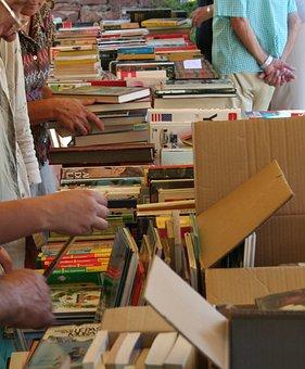 Flea Market, Bookseller, Vide-grenier, Bargain Hunting