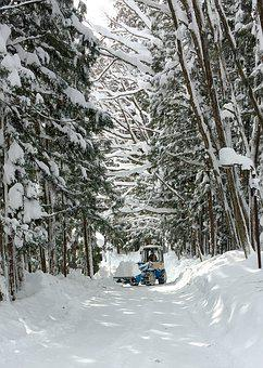 Snow, Hakuba, Japan, Winter, Clearing, Snow Clearing