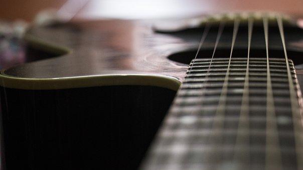 Guitar, Pin, Music, Musician, Guitarist, Instrument