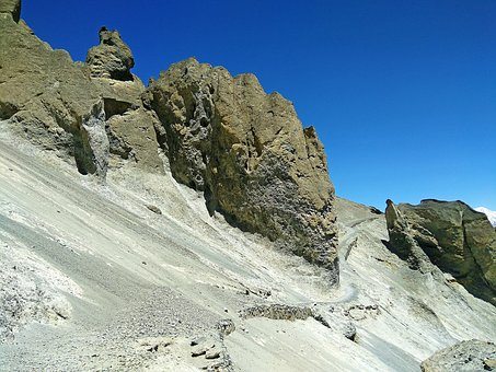 Hill, Manang Hill, Dangerous Hill Way, Landslide Way