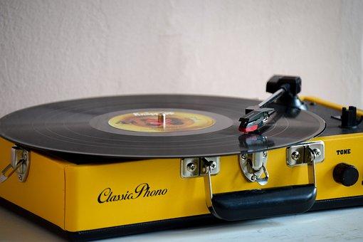 Gramophone, Turntable, Lp, Travel Records