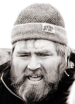 Archaeologist, Shetland Isles, Scotland, Portrait, Male