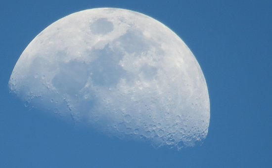 Moon, Sky, Lunar Surface, Crater, Space, Beauty