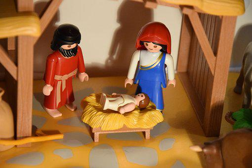 Christmas, Nursery, Jesus, Nativity, Religion
