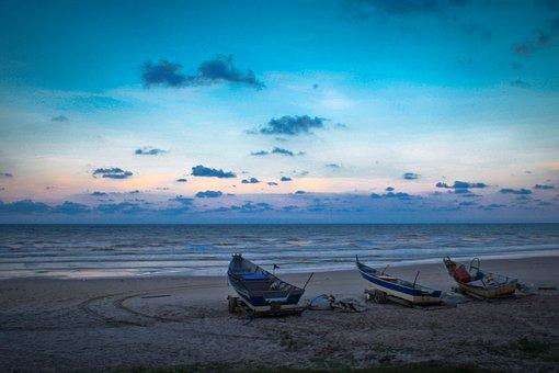 Boat, Sea, Beach, Ocean, Ship, Tourism, Nature, Symbol
