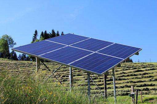 Solar Energy, Solar Panel, Current, Technology