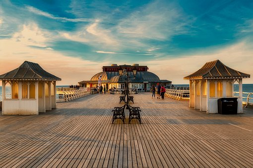 Cromer, England, Great Britain, Uk, Pier, Boardwalk