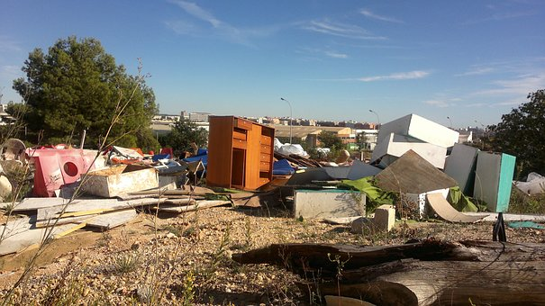 Illegal Dumping, Abandonment, Contamination, Waste, Msw