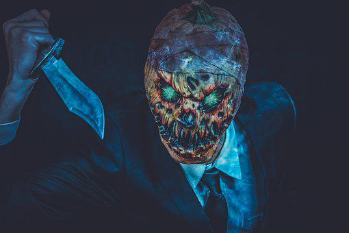 Horror, Halloween, Creepy, Scary, Weird, Pumpkin, Fear