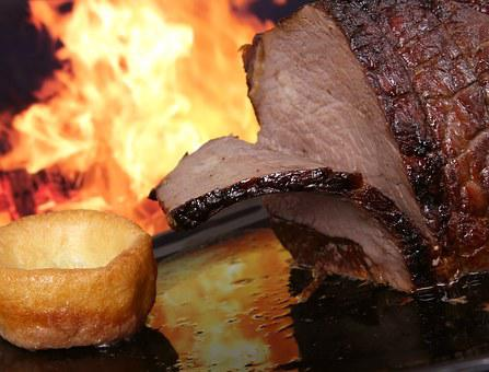 Abstract, Barbecue, Barbeque, Bbq, Beef, Slice, Britain