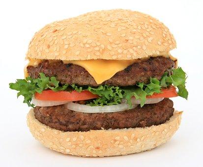 Appetite, Beef, Big, Bread, Bun, Burger, Calories