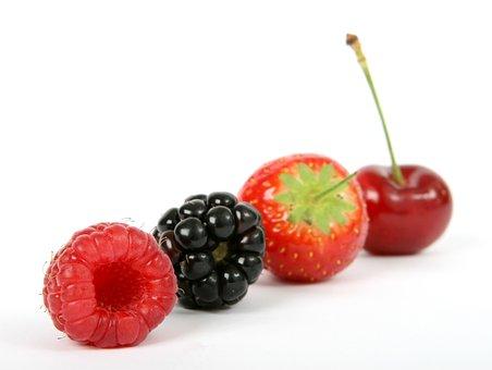 Berry, Black, Blackberry, Blueberry, Breakfast, Cherry
