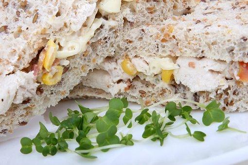 Appetite, Bread, Breakfast, Brown, Calories, Chicken