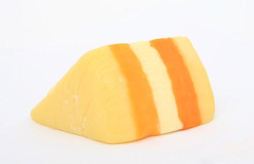Block, Cheese, Cheesy, Closeup, Close-up, Colour