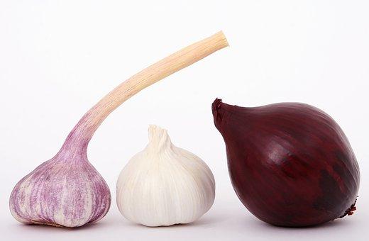 Bulb, Closeup, Close-up, Clove, Color, Colour, Cook