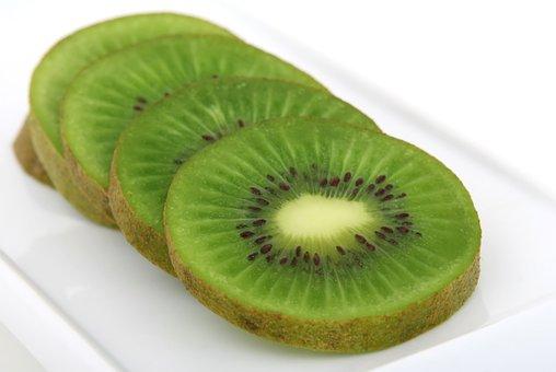 Food, Fresh, Fruit, Good, Green, Healthy, Kiwifruit