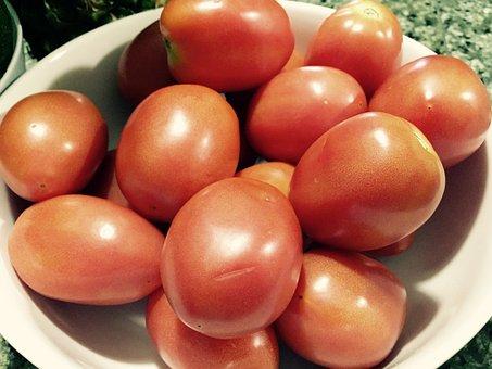 Tomatoes, Fruit, Vegetable, Fresh, Organic, Raw, Red