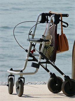 Rollator, Walker, Seniors, Mobility, Go, Legs