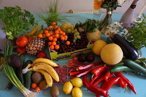 Groceries, Fruit, Fruit Haul, Vegan, Soy, Food, Grocery