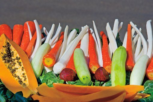 India, Travel, Asia, Food, Vegetables, Red, Carrot
