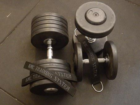 Dumbbells, Bodybuilding, Muscles, Workout, Strength