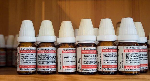 Homeopathy, Globuli, Scattering Beads, Naturopathy