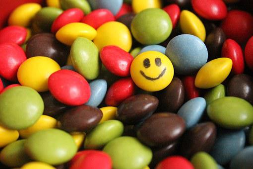 Lucky Charm, Smiley, Smarties, Tablets, Drug, Pills
