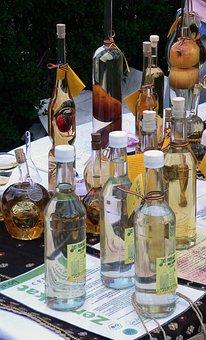 Alcohol, Schnapps, Traditional, Romania, Palinca