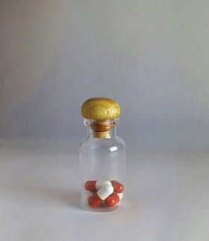 Vial, Pills, Pillbottle, Medicine, Drug, Pharmaceutical