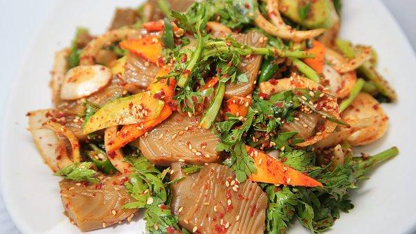 Dotorimuk, Acorn, Korean Food