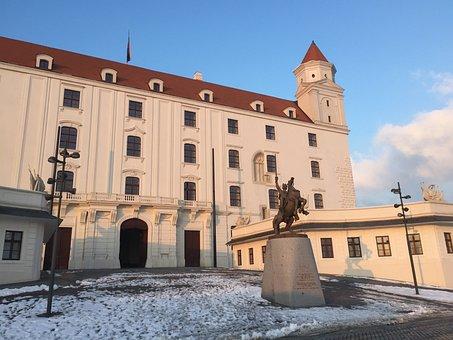 Bratislava, Slovakia, City, Europe, Architecture