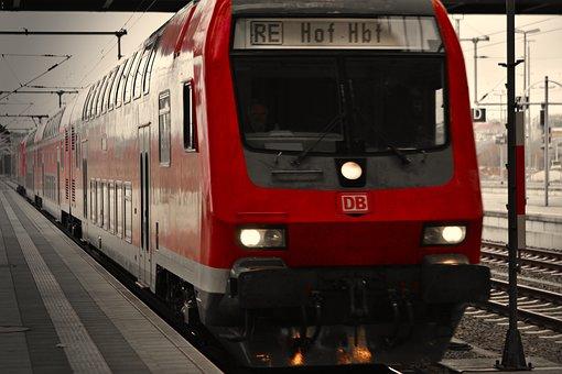 Train, Db, Deutsche Bahn, Railway, Rail Traffic