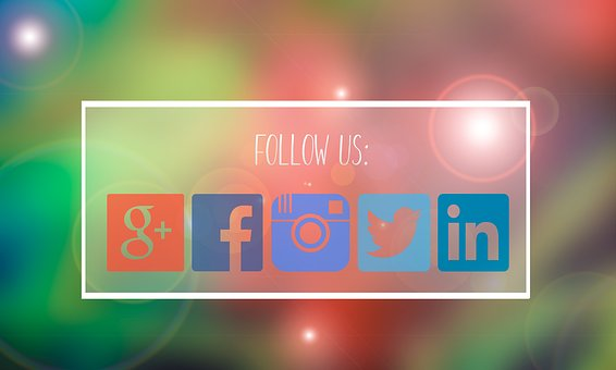 Follow Us, Facebook, Google Plus, Media, Social, Follow