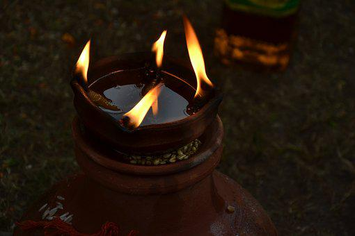 Light, Flame, Fire, Pot Diya, Indian, Deepawali, Diya
