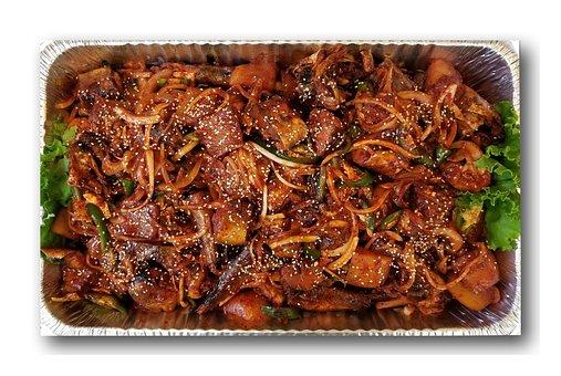 Korean, Food, Catering