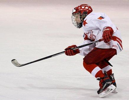 Player, Hockey, Hockey Player, Sport, Striker