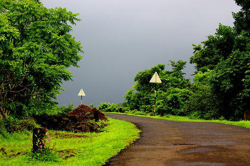 Bharat, India, Monsoon, Temple, Spiritual, Calm, Serene
