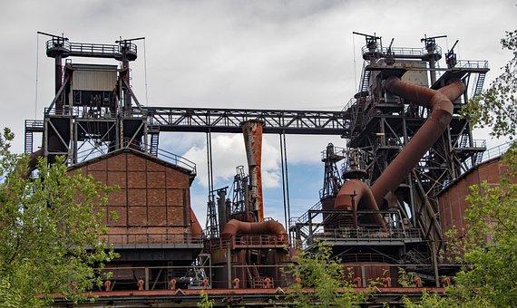 Duisburg, Industrial Park, Industry, Landscape Park