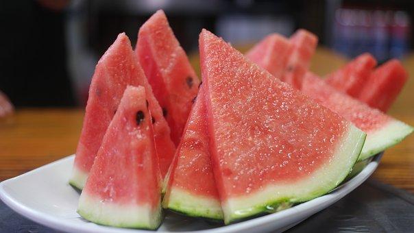 Watermelon, Fruit, Korea And, Food
