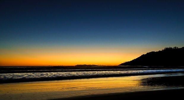 Born Sun, Beach, Litoral, Santa Catarina, Dawn