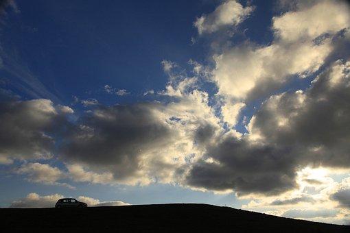 Sky, Mountain, Landscape, Nature, Clouds, Blue Sky