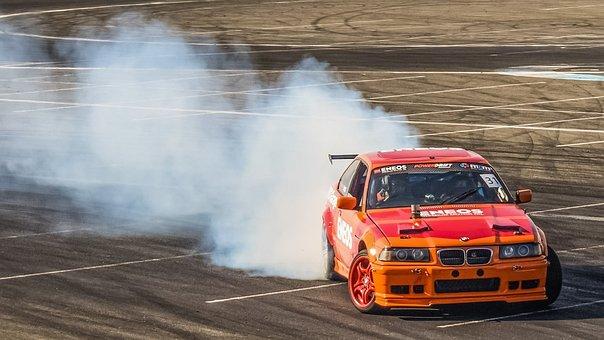 Drifting, Sport, Drift, Car, Speed, Racing, Fast, Race