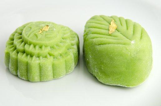Mooncake, Mid-autumn, China, Oriental, Food, Sweet
