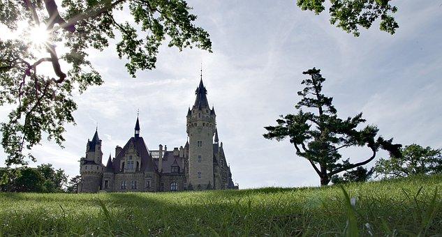 The Palace, Castle, Magical, Scrotum, Poland, Silesia