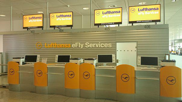 Lufthansa, Transfer, Switch, Architecture, Airport