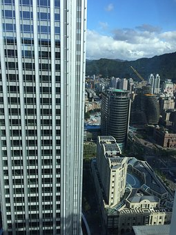 Taipei, City, Xinyi District, Large F, Construction
