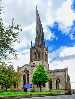 Chesterfield, Derbyshire, Twisted, Crooked, Spire