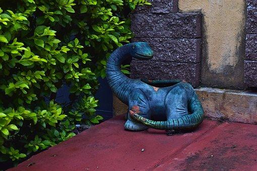 Dinosaur, Brontosaurus, Reptile