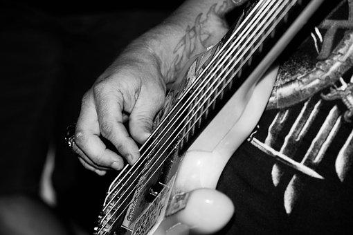 Guitar, Music, Black White, Instrument, Sound, Essay
